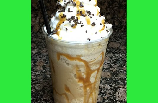 Higher Ground Frozen Caramel Macchiato