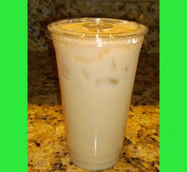 Higher Ground Chai Tea Latte over ice
